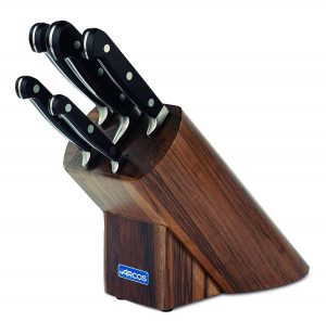 taco cuchillos Arcos madera