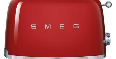 comprar tostador SMEG rojo