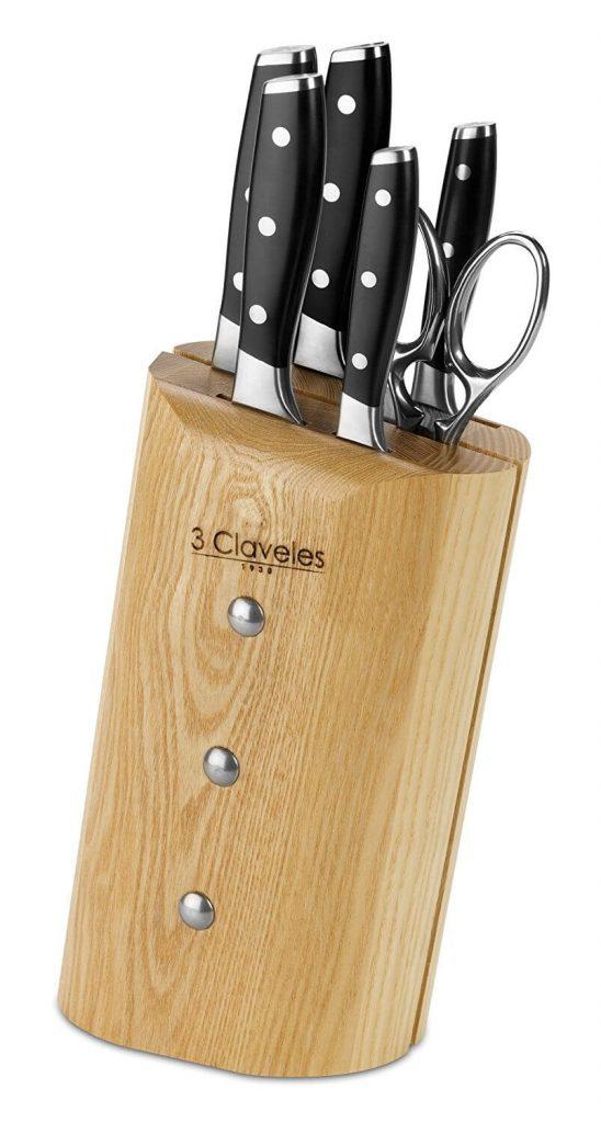 juego de cuchillos 3 claveles