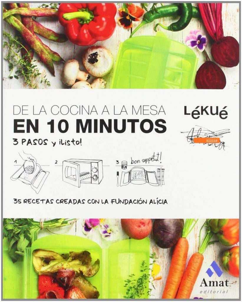 libro de cocina Lekue