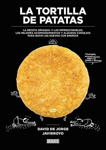 libro de recetas de tortilla