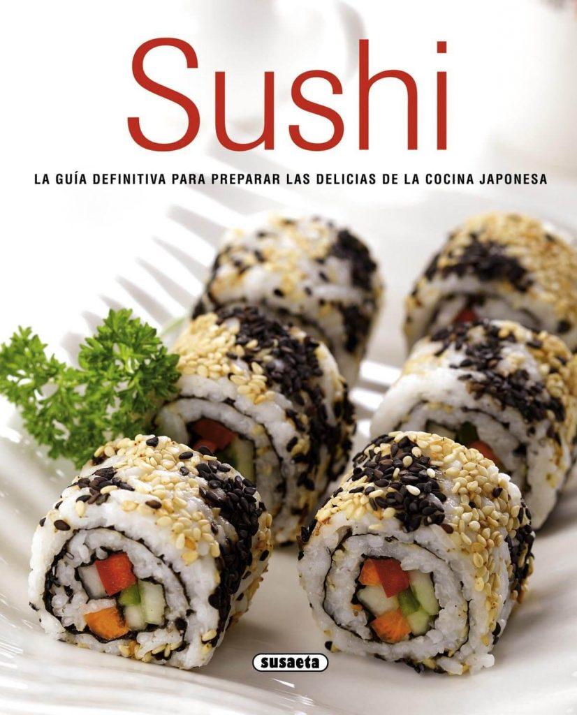 libro de cocina sushi
