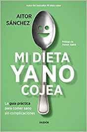 libro de cocina mi dieta ya no cojea